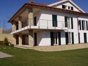 Vasvár, Kilátó u. Karakó villa, Építés éve: 2005-2006, Alapterület: 480 m2
